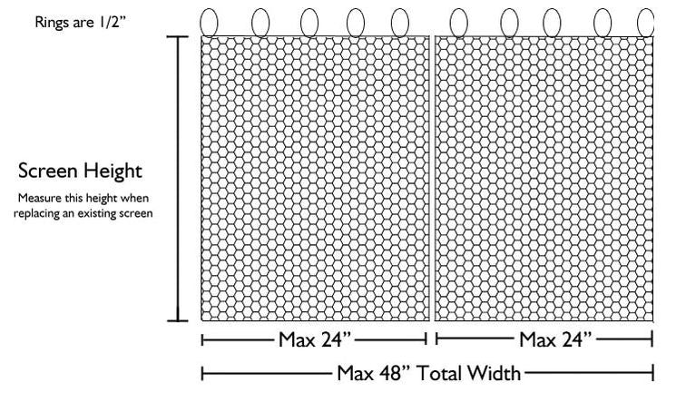 Measuring a Fireplace Screen