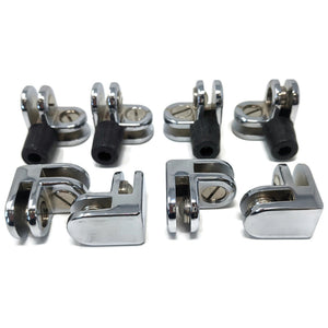 90-Degree Brackets for Square Wind Guards (1-Set)