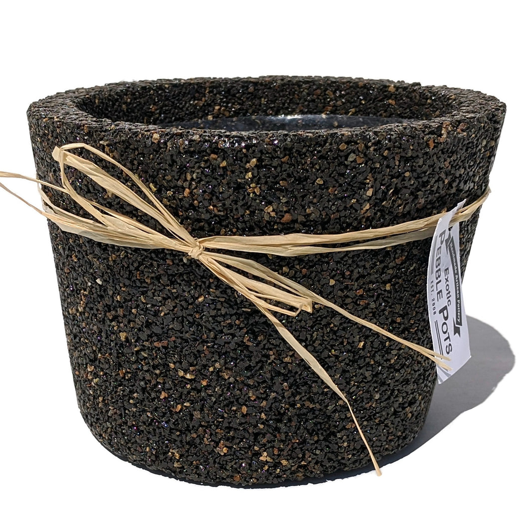 Exotic Pebble Pots - Black 6
