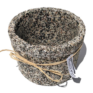 Exotic Pebble Pots - Gray 6""