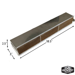 "Catalytic Combustor Regency Pro Hampton Inserts (3"" x 18.5"" x 2.5"")"