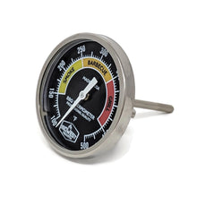 "Load image into Gallery viewer, Grill Thermometer for Weber Kettle and More (2"" Dial, 2.13"" Stem)"
