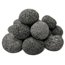 "Load image into Gallery viewer, Tumbled Lava Stones Medium (1""-2"") 10-lb Bag"