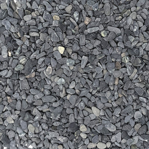 "Natural Decorative Gray Pebbles 1/5"" Size (10-lb Bag)"