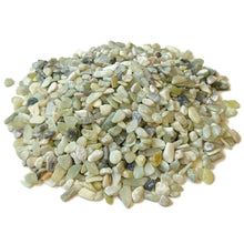 "Load image into Gallery viewer, Natural Decorative Jade Bean Pebbles 1/5"" Size (10-lb Bag)"