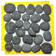 "Load image into Gallery viewer, Tumbled Lava Stones Large (2""-3"") 10-lb Bag"