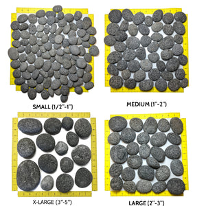 "Tumbled Lava Stones Medium (1""-2"") 10-lb Bag"