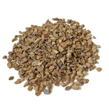 "Load image into Gallery viewer, Natural Decorative Wood Bean Pebbles 1/5"" Size (10-lb Bag)"