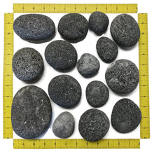 "Load image into Gallery viewer, Tumbled Lava Stones X-Large (3""-5"") 10-lb Bag"