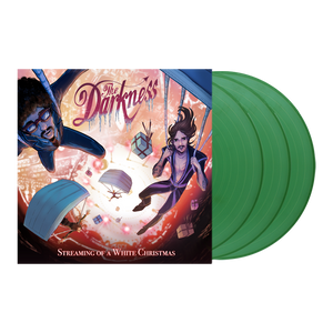 The Darkness - Streaming Of A White Christmas - Triple Heavy (180g) Sparkle Green Vinyl