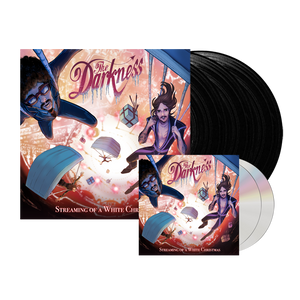 The Darkness - 2CD + Triple Black Vinyl Bundle