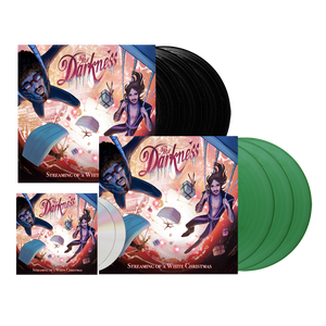 The Darkness - 2CD + Triple Sparkle Green Vinyl + Triple Black Vinyl Bundle