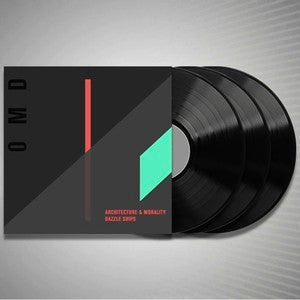 OMD - Architecture & Morality and Dazzle Ships - 3LP