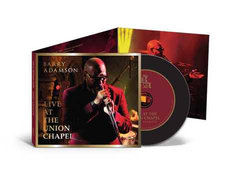 Barry Adamson - Live At The Union Chapel - Deluxe CD - *SIGNED!*