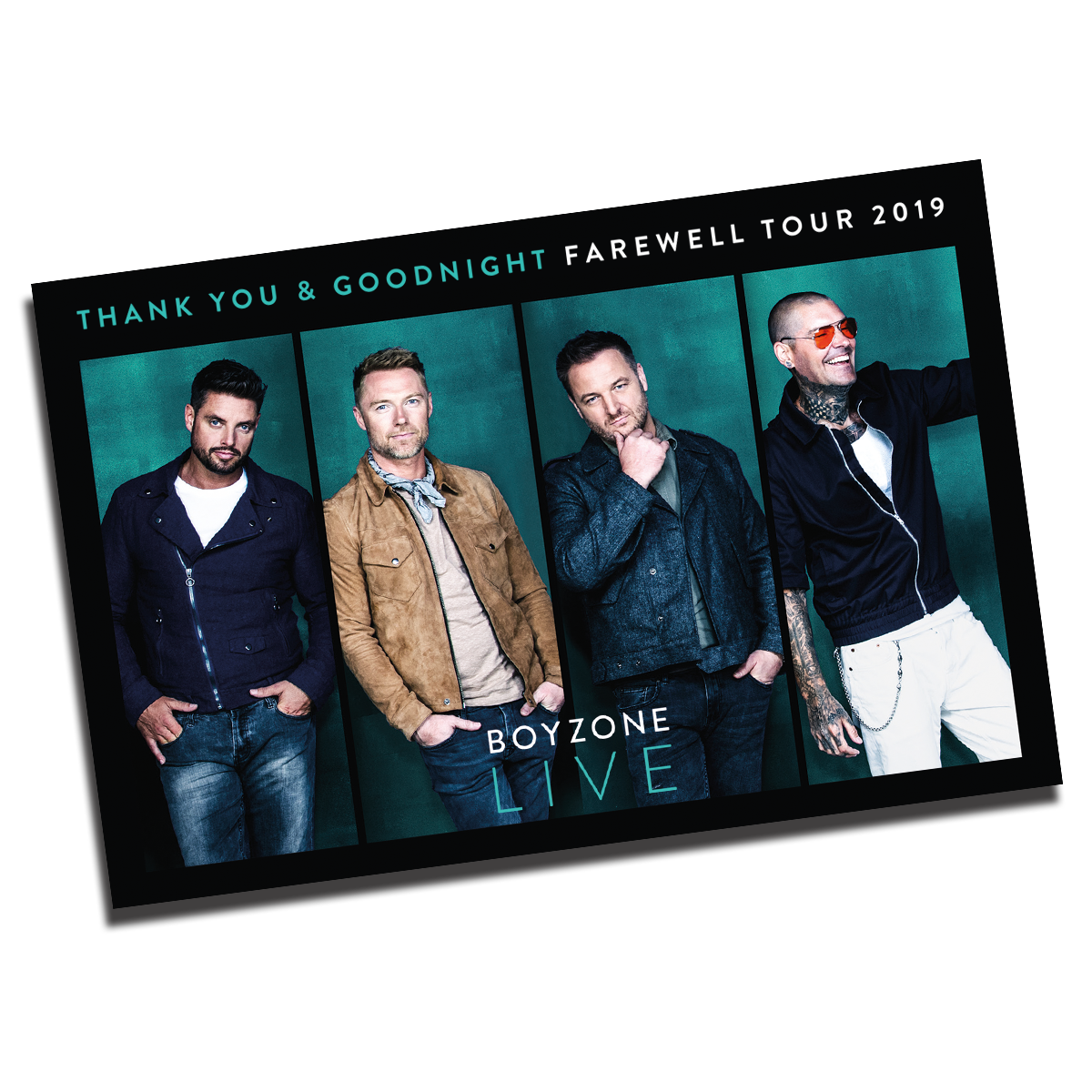Boyzone - The Farewell Tour Download Gift Card