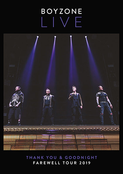 Boyzone - The Farewell Tour - Hard Back Ltd Edition CD Photo Book (A5)