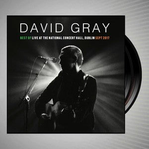 David Gray - Best Of: Live At The National Concert Hall Dublin - 180g grey vinyl  3LP