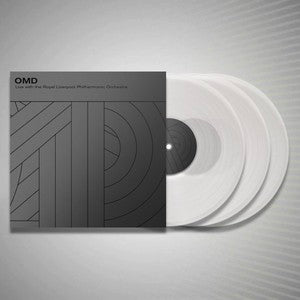 OMD - Live with the Royal Liverpool Philharmonic Orchestra - Triple Heavyweight Clear Vinyl