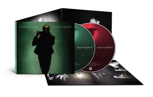 Peter Murphy - Live In London - Deluxe double CD and 12 page booklet (Inc free 320k MP3)