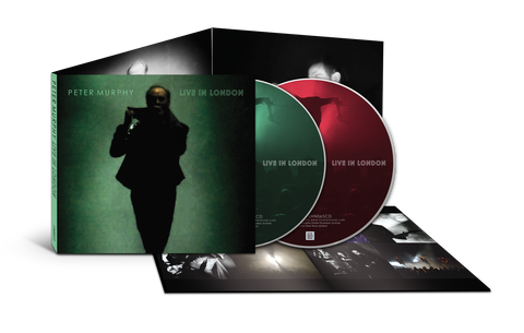 Peter Murphy - Live In London - Deluxe double CD and 12 page booklet.