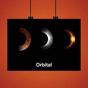 Orbital -2017 Limited Edition Art Print (500 Only)- SIGNED