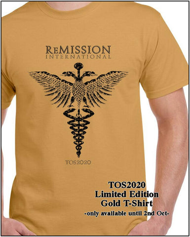 ReMission - TOS2020 Gold T-Shirt