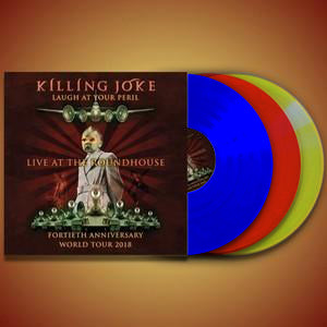 Killing Joke - Laugh At Your Peril - London Heavyweight Coloured 3LP