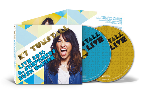 KT Tunstall - Live 2016 O2 Shepherds Bush Empire 2 x CD