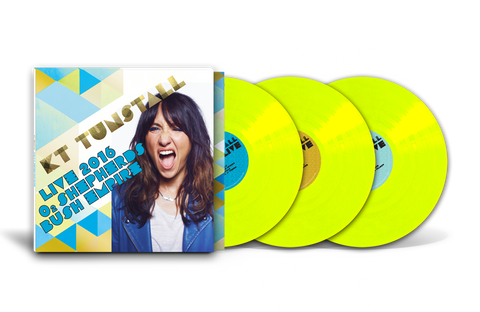 KT Tunstall - Live 2016 O2 Shepherds Bush Empire 3 x LP (180g Vinyl)