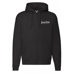 Lucie Jones - Live at the Adelphi   - Black Zip Up Hoodie with Embroidered Logo