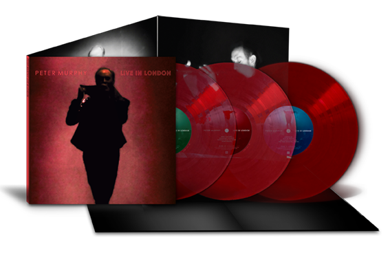 Peter Murphy - Live In London - Deluxe Ruby Red Heavy 180g 3LP (Inc free 320k MP3)
