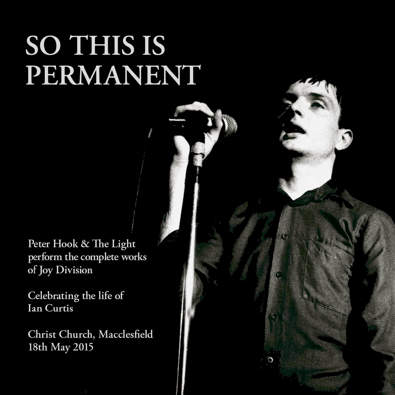 Peter Hook & the Light - So This Is Permanent - Download (MP3 or WAV)