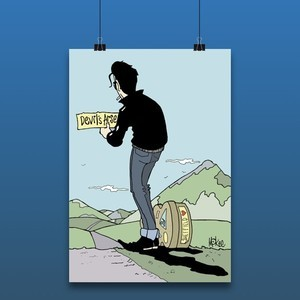 Richard Hawley - Pete McKee Print- Exclusive 500 only!