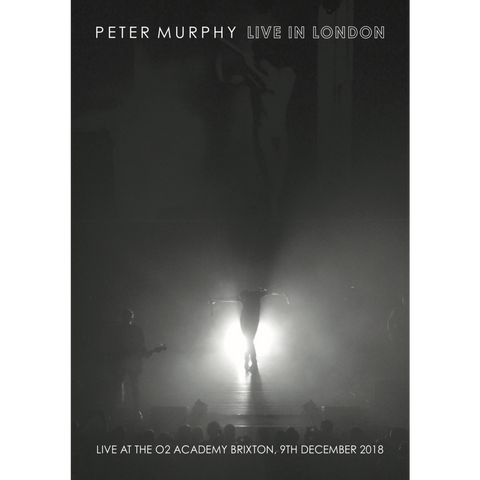 Peter Murphy - Live In London Exclusive Limited Edition Art Print (500 Only)