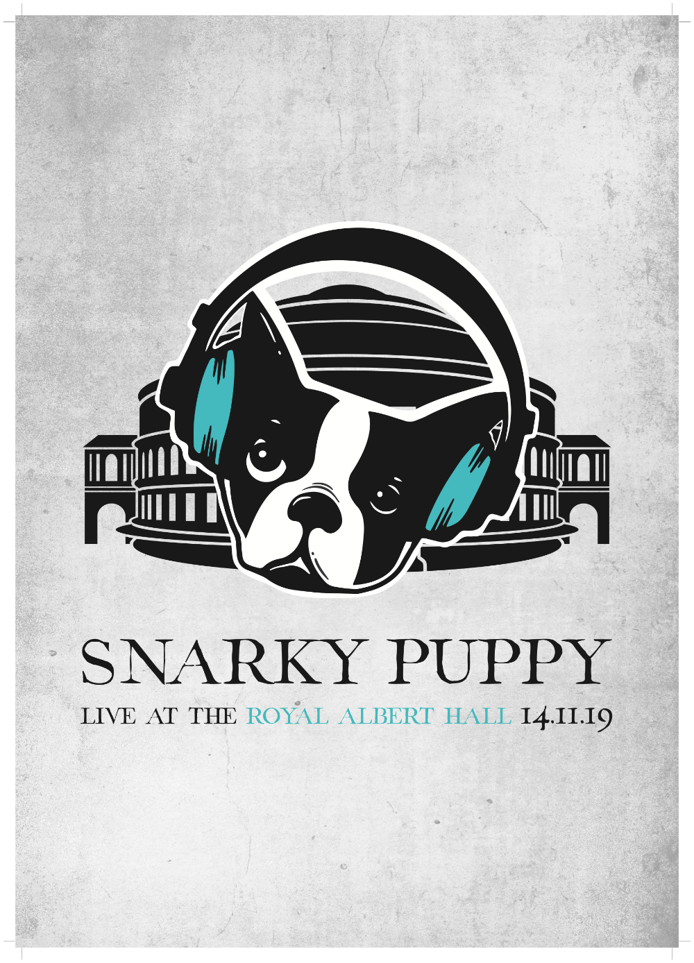 Snarky Puppy: Live At The Royal Albert Hall - A3 Art Print.