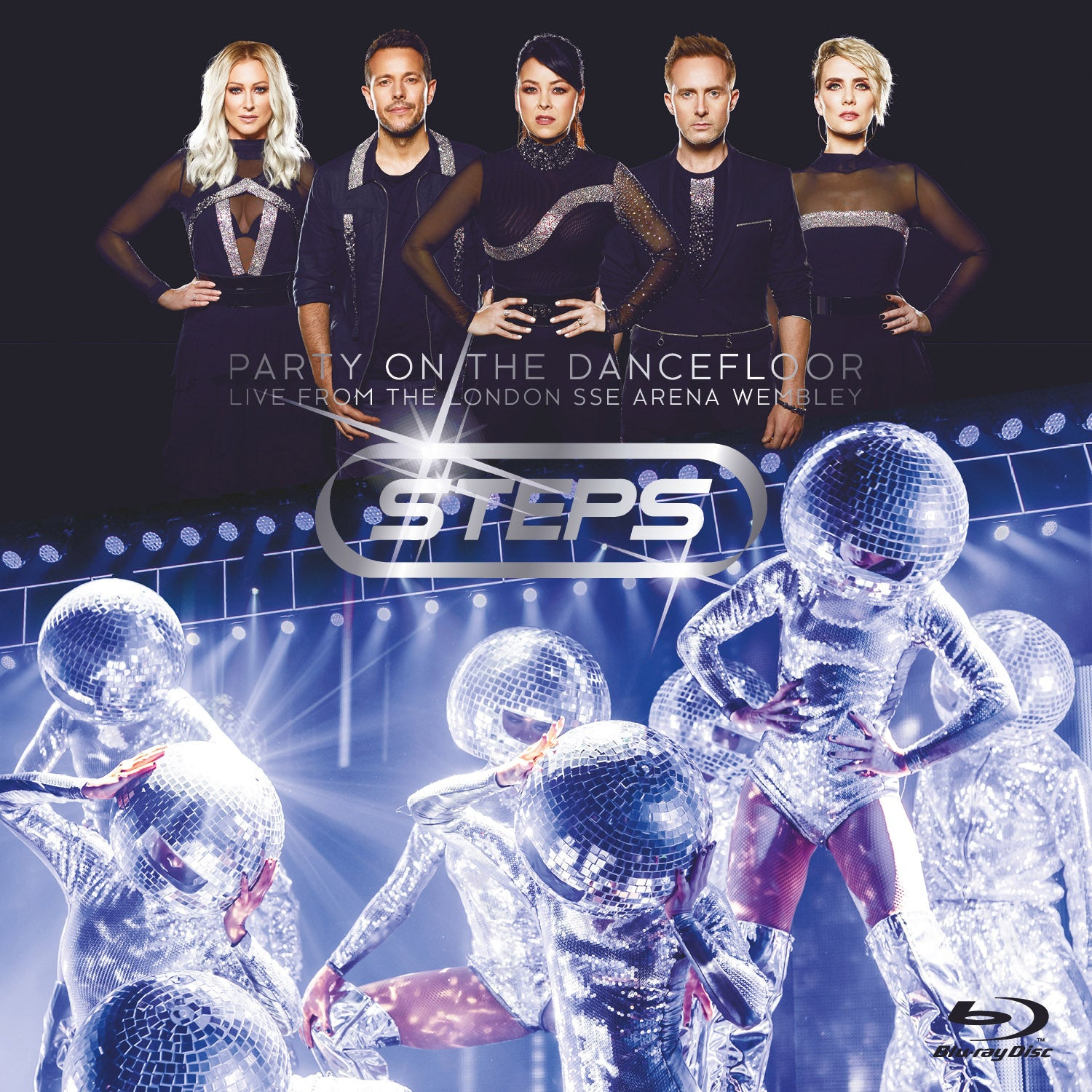 Steps - Party On The Dancefloor - Live At Wembley - BluRay Deluxe