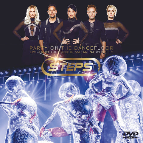 Steps - Party On The Dancefloor - Live At Wembley - DVD Deluxe