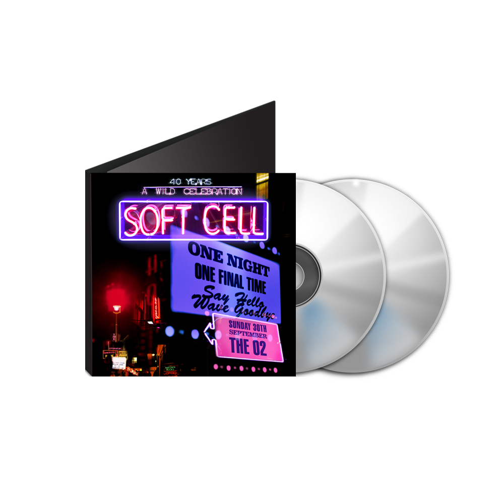 Soft Cell - Say Hello, Wave Goodbye: The O2 London DVD & BluRay Double Pack (inc MP3 download)