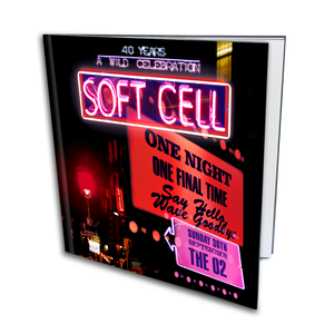 Soft Cell - Say Hello, Wave Goodbye: The O2 London Super Deluxe Photobook (inc MP3 download)