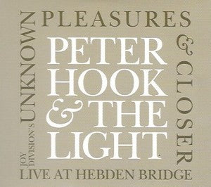 Peter Hook & The Light - Unknown Pleasures & Closer - Hebden Bridge (MP3 or WAV)