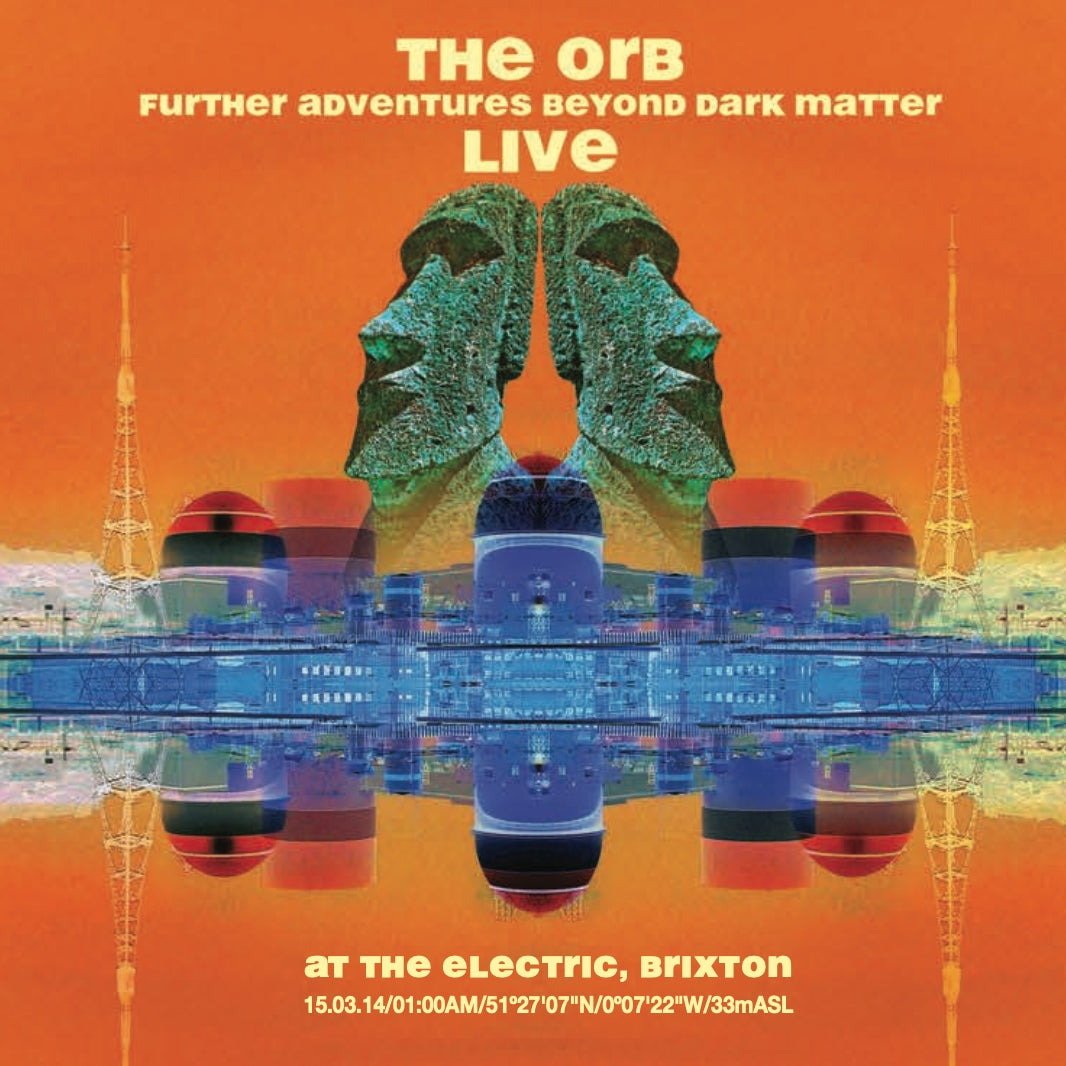 The Orb - Further Adventures Beyond Dark Matter- Live - 2CD & DVD
