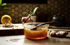 From Pantry to Remedy—Cold-Busting Infused Honey