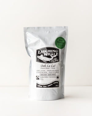 Laughing Whale Organic Coffee - Ooh La La! (French Roast/Very Dark)