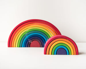 Grimm's Stacking Toy - Rainbow