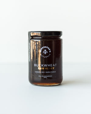Raw Buckwheat Honey (500g)