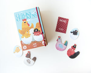 Chicks & Chickens Memory & Matching Game