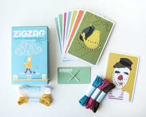 ZigZag Threading Cards