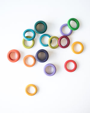 Loose Parts — Rainbow Rings