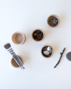 Loose Parts — Natural Bowls