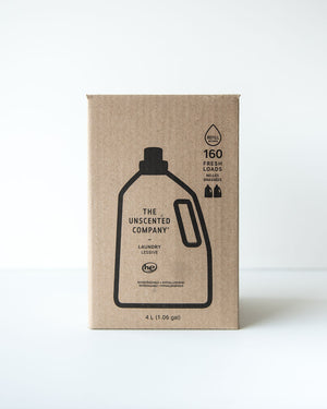 The Unscented Company | Laundry Soap 4L Refill Station